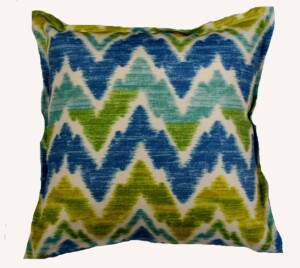 Artic Waves Bungalow Living Indoor Outdoor Cushion