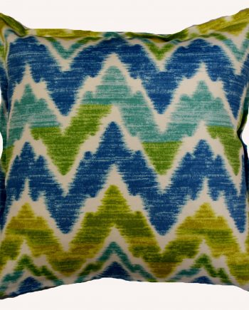 Artic Waves Bungalow Living Indoor Outdoor Cushion