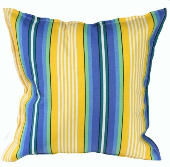 Beach Stripe Indoor Outdoor Cushion Bungalow Living