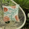 Aqua Shells Indoor Outdoor Cushion Bungalow Living