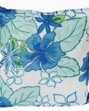 Hibiscus Blue Indoor Outdoor Cushion Bungalow Living