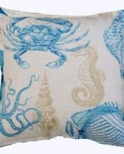 Ocean Reef Aqua Indoor Outdoor Cushion Bungalow Living