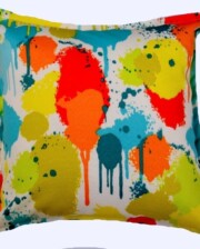 Paint Splash Indoor Outdoor Cushion Bungalow Living