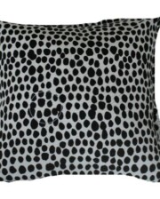 Black & White Dalmation Spot Outdoor Cushion Bungalow Living