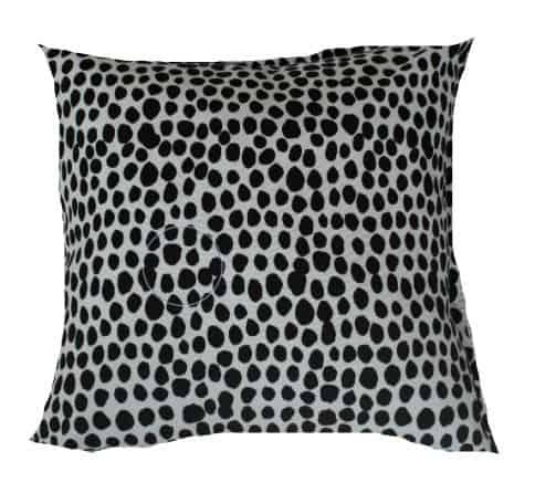 Black & White Dalmation Spot Outdoor Cushion Bungalow Living