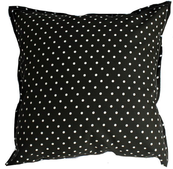 Black & White Spot Outdoor Cushion