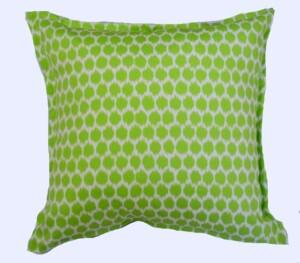 Green Ikat Spot Indoor Outdoor Cushion Bungalow Living