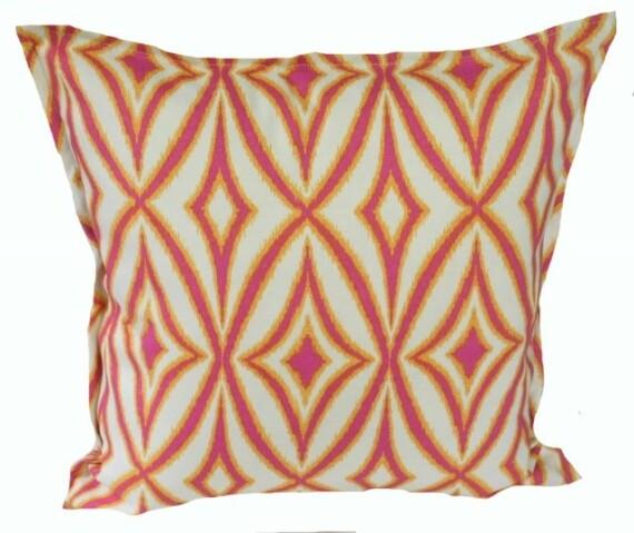 Citrus Geo Indoor Outdoor Cushion Bungalow Living