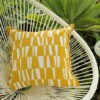 Yellow Stix Outdoor Indoor Cushion Bungalow Living