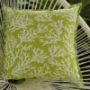 Coral Green Indoor Outdoor Cushion Bungalow Living