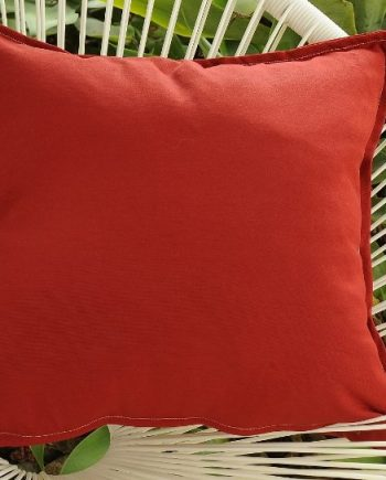 Red Indoor Outdoor Cushion Bungalow Living