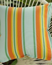 Sunshine Stripe Outdoor Indoor Cushion Bungalow Living