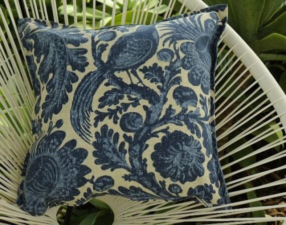Blue Pheasant Indoor Outdoor Cushion Bungalow Living