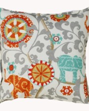 Elephant Grey Indoor Outdoor Cushion Bungalow Living