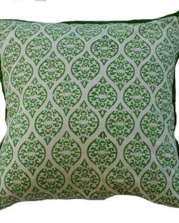 Green Stamp Indoor Cushion Bungalow Living