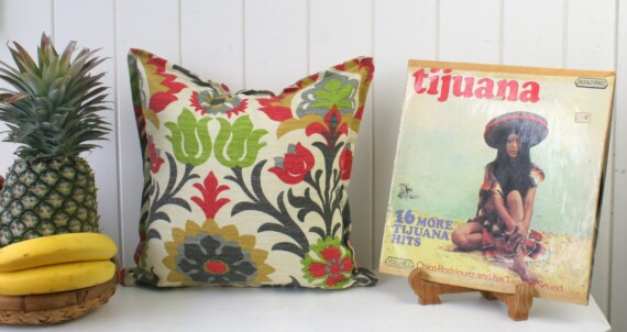 Santa Fe Floral Indoor Outdoor Cushion Bungalow Living