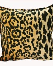 Velvet Leopard Indoor Cushion Bungalow Living