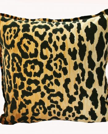 Velvet Leopard Indoor Cushion Bungalow Living