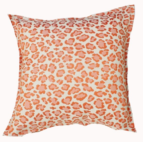 Coral Spot Cushion Bungalow Living