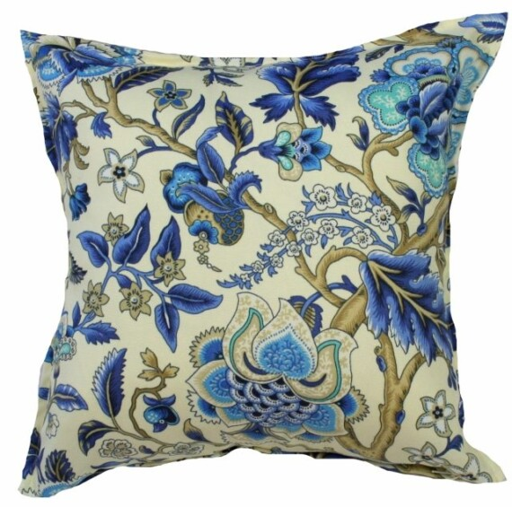 Imperial Azure Indoor Outdoor Cushion Bungalow Living
