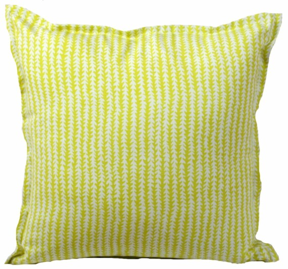 Lime  Spike Stripe Indoor Outdoor Cushion Bungalow Living