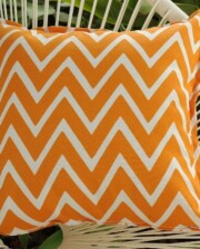 Orange Wizz Indoor Outdoor Cushion Bungalow Living