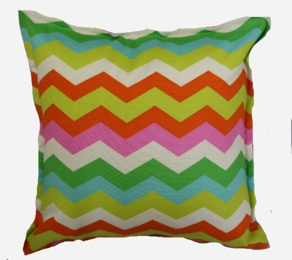 Santa Cruz Chevron Indoor Outdoor Cushion Bungalow Living
