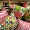 Spring Rain Indoor Outdoor Cushion Bungalow Living