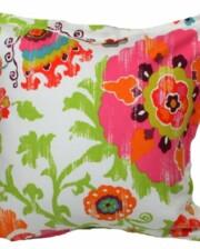 Pink Sari Indoor Outdoor Cushion Bungalow Living
