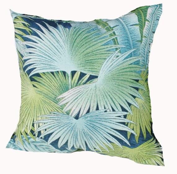 Blue Rainforest Indoor Cushion