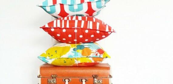 Paint Splash Indoor Outdoor Cushion Bungalow Living