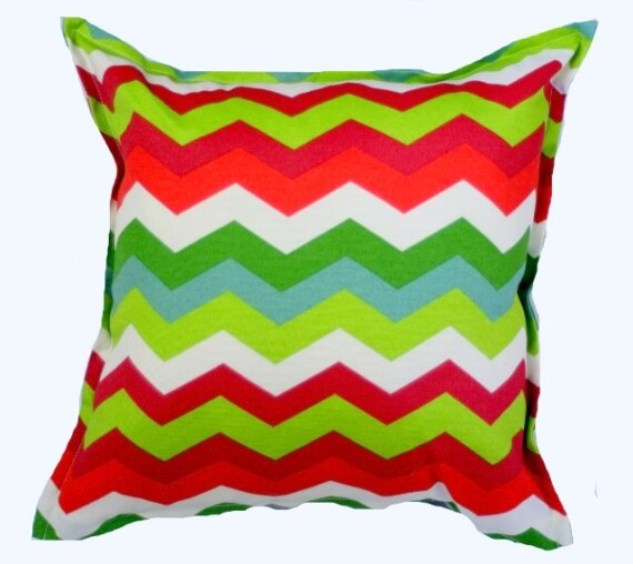 Santa Fe Chevron Indoor Outdoor Cushion Bungalow Living