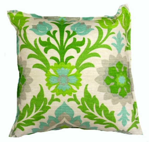 Santa Monica Floral Indoor Outdoor Cushion Bungalow Living