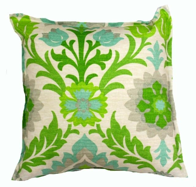 Santa Monica Floral Indoor Outdoor Cushion Cover