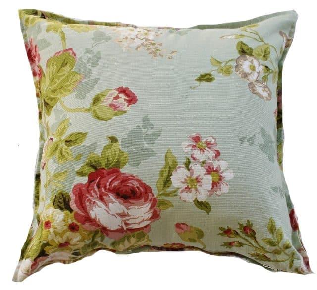 Vintage Floral Mineral Indoor Cushion Cover