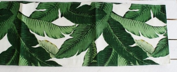 Oasis Palm Table Runner