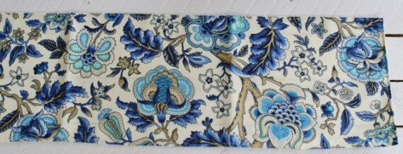 Imperial Azure Table Runner