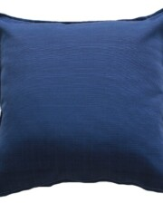 Deep Blue Indoor Outdoor Cushion Cover Bungalow Living