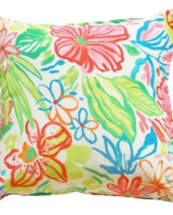 Watercolour Floral Indoor Outdoor Cushion Cover Bungalow Living