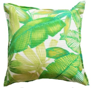 Rainforest Gold Indoor Outdoor Cushion Cover Bungalow Living