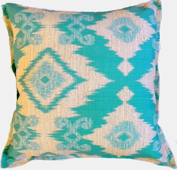 Blue Hawaii Indoor Outdoor Cushion Bungalow Living