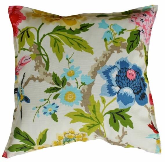 Oriental Garden Indoor Outdoor Cushions Bungalow Living