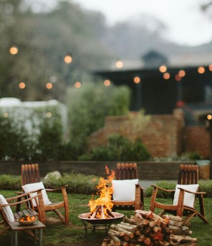 Bungalow Living Fire Pit Party