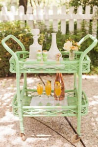 How to host a fun and stylish firepit party - Bungalow Living.  Image from Pinterest