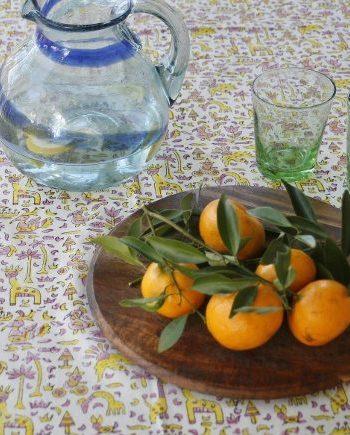 Bungalow Living Handmade Tablecloth