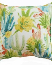 Cactus Flower Indoor Outdoor Cushion
