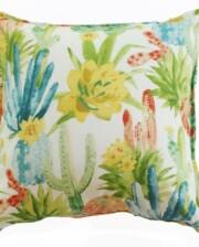 Cactus Flower Indoor Outdoor Cushion