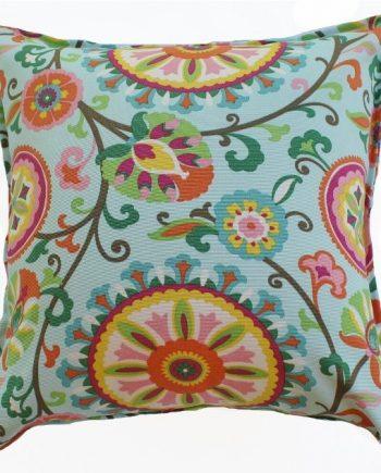 Suzani Floral Indoor Outdoor Cushion