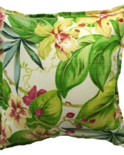Tropical Orchid Indoor Outdoor Cushion Cover