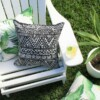 Black & White Totem Outdoor Cushion Bungalow Living